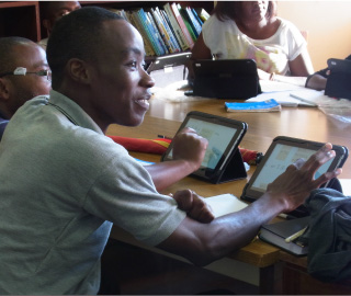 tablets for University of Zambia Language Centre