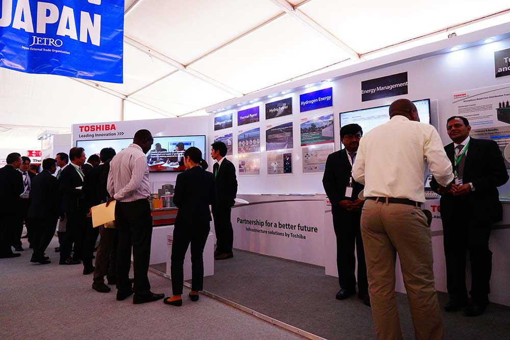 Toshiba Brings Energy Solutions for Africa to Japan Fair at TICAD V