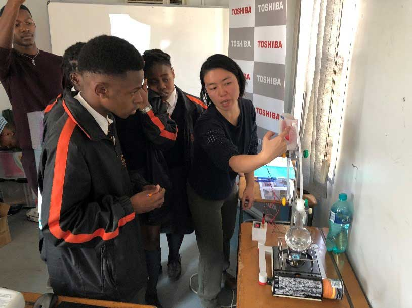 Toshiba Energy and Environmental programme at Leap 3 Science and Maths School