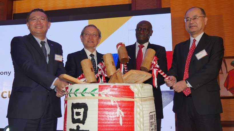 Opening Ceremony of Toshiba Africa (Pty) Kenya Branch