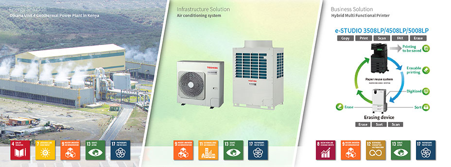 Toshiba's Energy Solutions in Africa
